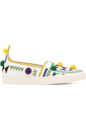 Aquazzura Slip-on-sneakers Aus Kunstleder