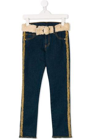 Le pandorine Jeans mit Gürtel