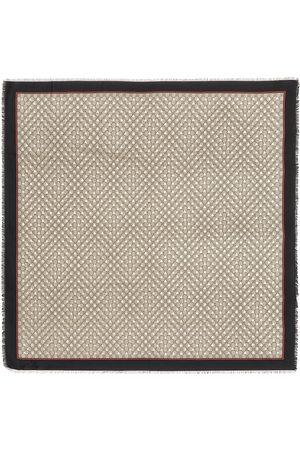 Gucci Bedrucktes Tuch mit Seidenanteil