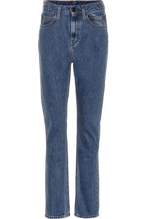 Calvin Klein High-Rise Jeans Narrow