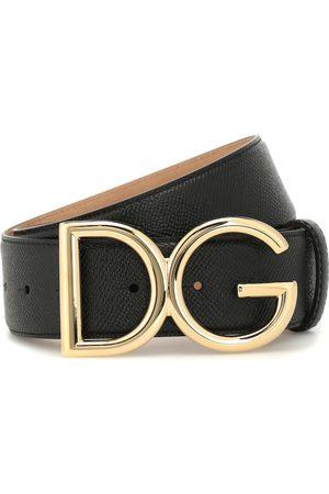 Dolce & Gabbana Verzierter Gürtel aus Leder