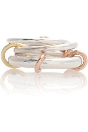SPINELLI KILCOLLIN Ring Orion aus 18kt Rosé- und Gelbgold und Sterlingsilber