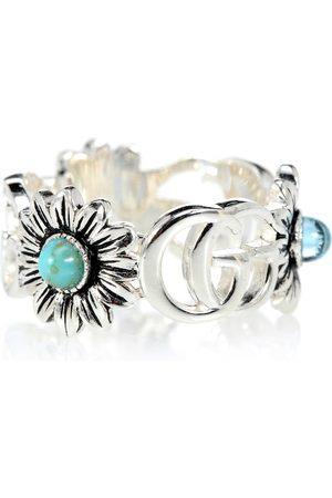 Gucci Damen Ringe - Ring aus Sterlingsilber mit Topas
