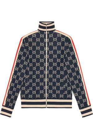 Gucci Jacke mit Jacquard-Monogrammmuster