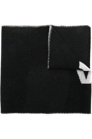 Balenciaga Macro'' Schal mit Logo