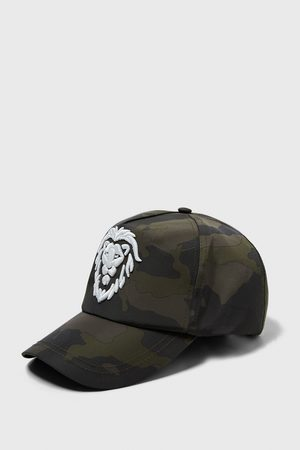 Zara BASEBALLCAP IN CAMOUFLAGE-OPTIK MIT STICKEREI