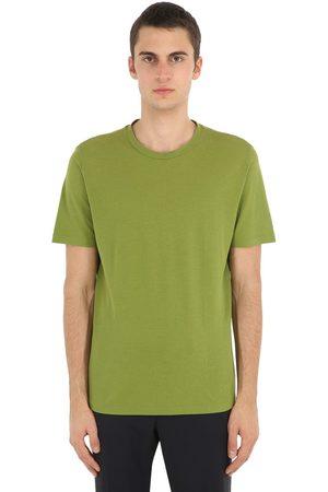 LARDINI T-shirt Aus Baumwolljersey