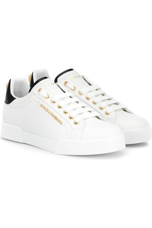 Dolce & Gabbana Sneakers Portofino aus Leder