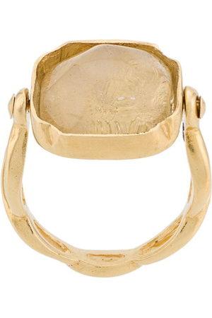 Goossens Eckiger 'Cabochons' Ring