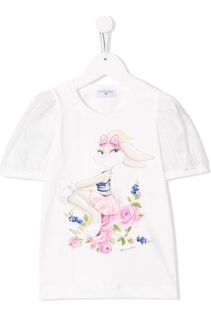 MONNALISA Rabbit print T-shirt