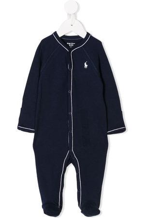 Ralph Lauren Baby Schlafanzüge - Embroidered logo pajamas