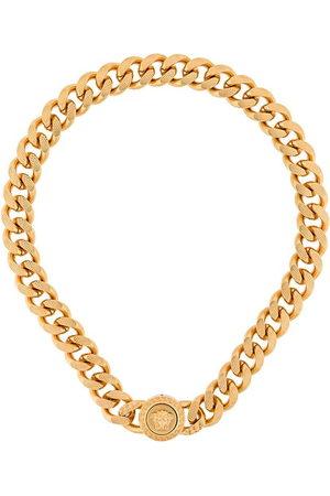 VERSACE Halskette mit Medusa - Metallisch