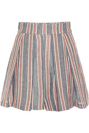Three Graces London Shorts aus einem Leinengemisch