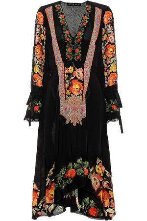 Etro Bedrucktes Kleid aus Seide