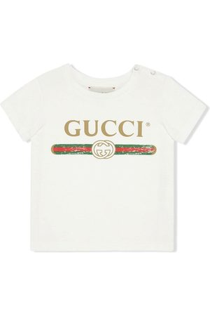 Gucci Baby T-shirt with Gucci logo