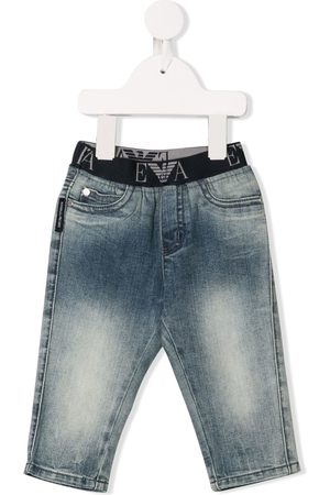Armani Elasticated waistband jeans