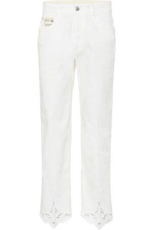 Stella McCartney Mid-Rise Jeans aus Baumwolle