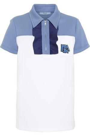 Prada Verziertes Poloshirt