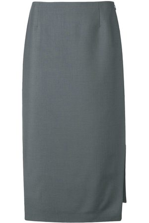 Prada Side slit midi skirt