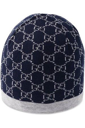 Gucci Wollmütze mit GG-Muster