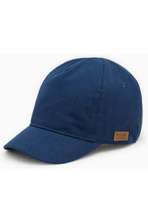 Zara Unifarbene baseballcap mit etikett