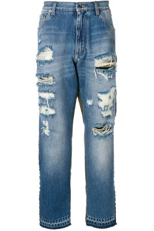 Dolce & Gabbana Camouflage-detail jeans