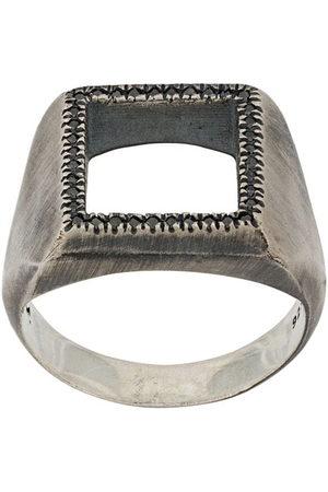 M. COHEN Ringe - Ring mit eckigem Cut-Out