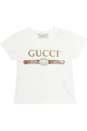 Gucci Baby T-Shirt aus Baumwolle
