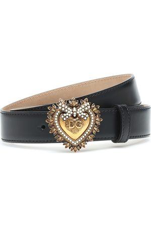 Dolce & Gabbana Verzierter Ledergürtel Devotion