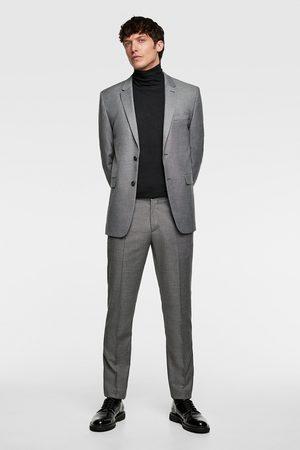 Zara Bequeme chintz-anzughose