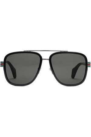 Gucci Herren Sonnenbrillen - Klassische Pilotenbrille