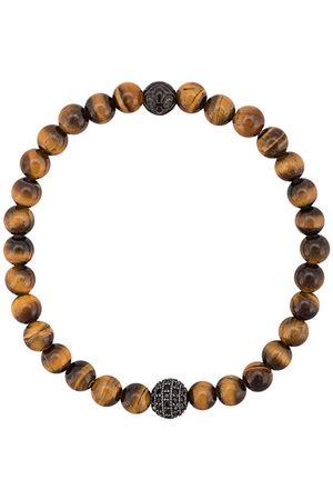 Nialaya Armband mit Tigeraugen-Perlen
