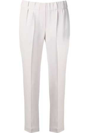 Brunello Cucinelli Tapered-Hose - Nude