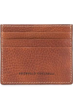 Brunello Cucinelli Kartenetui mit Logo-Prägung