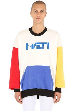 """HAERVAERK Sweatshirt Aus Fleece """"rainbow Bag"""""""