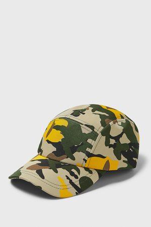 Zara Baseballcap mit camouflageprint