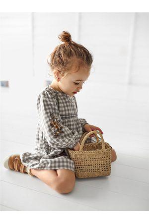Zara Baby Taschen - Kleine korbtasche mit kontrastfutter