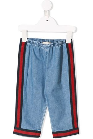 Gucci Signature stripe jeans