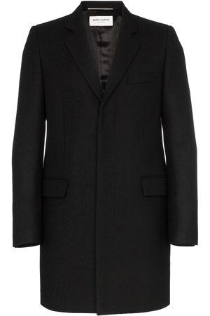 Saint Laurent Single-breasted wool coat