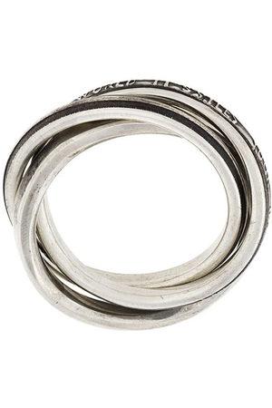 WERKSTATT:MÜNCHEN Mehrfachring aus Sterlingsilber - Metallisch