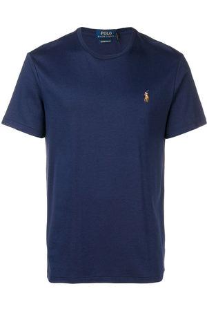 Ralph Lauren T-Shirt mit Logo-Stickerei