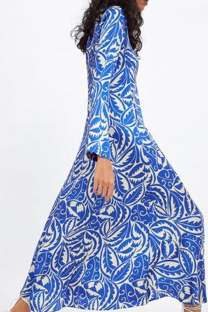 Blaues Kleid Zara 3f90ff