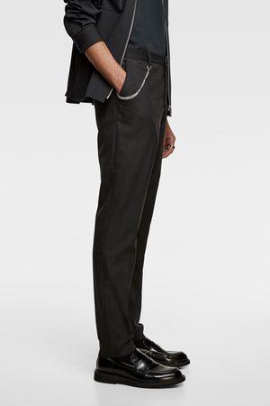 Zara Anzughose mit nadelstreifen