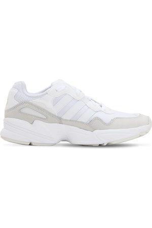 "adidas Herren Sneakers - Sneaker Aus Leder Und Mesh ""yung-96"""