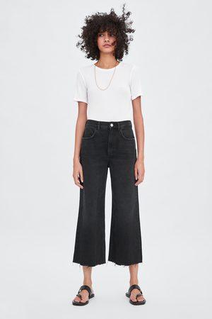 Zara Jeans hi rise wide leg