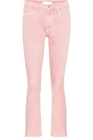 Mother Mid-Rise Cropped Jeans The Rascal