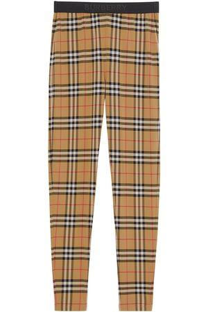 Burberry Leggings mit Vintage-Check