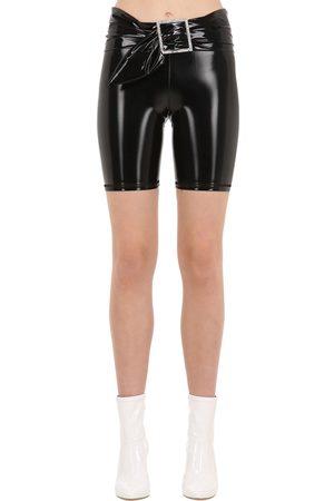 """AYA MUSE Damen Shorts - Bikershorts Aus Vinyl """"gara"""""""