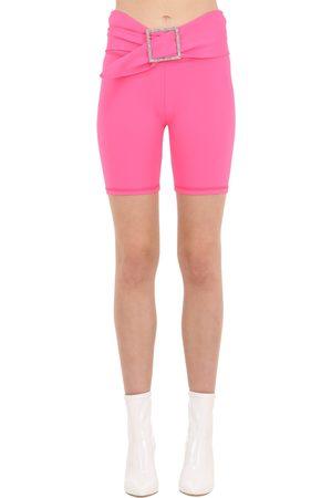 AYA MUSE Damen Shorts - Radlerhose Aus Mikronylon