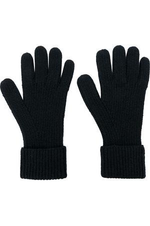 N.PEAL Gerippte Handschuhe aus Kaschmir